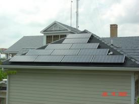Green Building - Solar of Panels